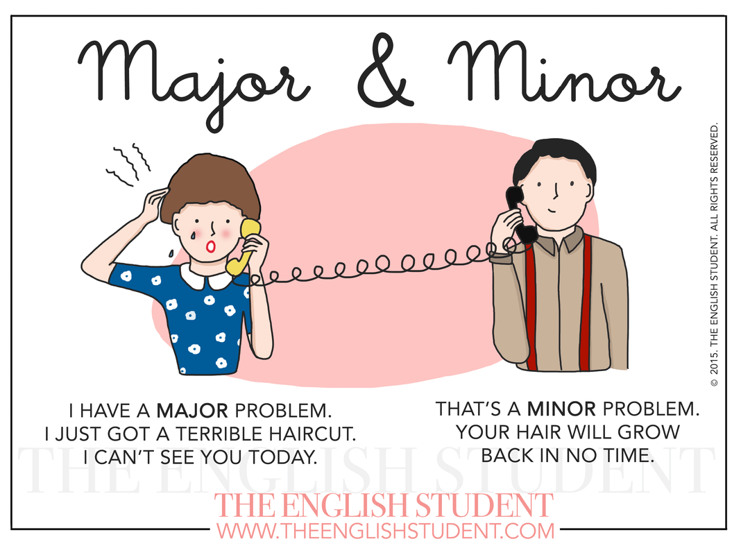 What is the difference between a major and a minor?